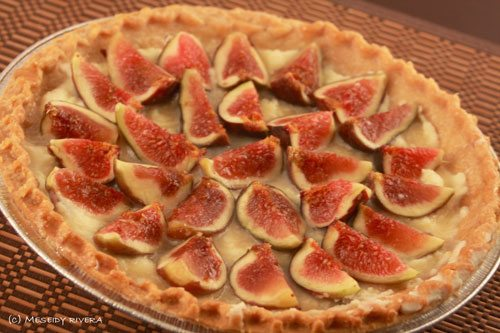 Mascarpone & Fig Tart