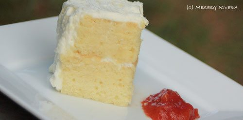 Tres Leches (3 Milk Cake) with a Coconut Twist - The Noshery
