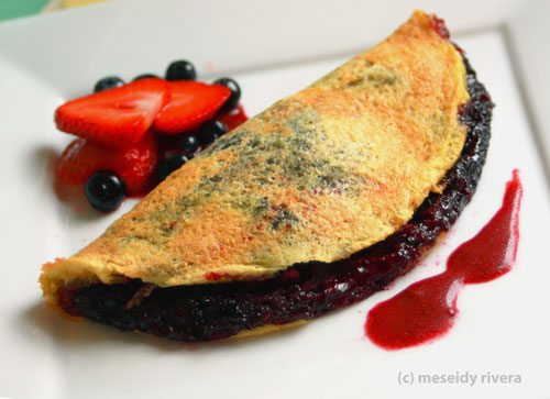 Very Berry Souffle Omelette