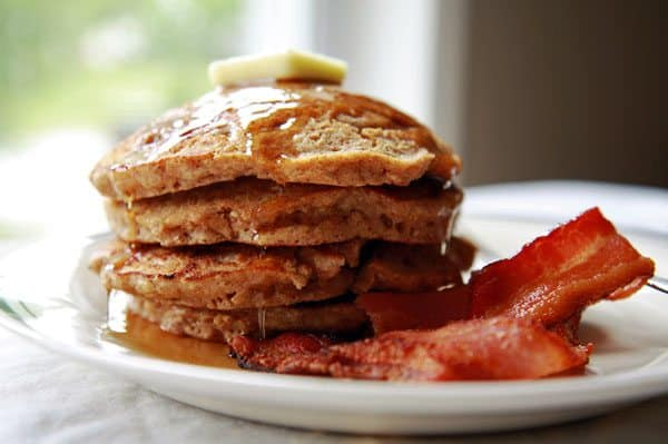 Nut and Grain Pancakes