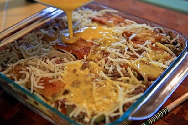 Pastelon (Puerto Rican Lasagna) - by TheNoshery.com