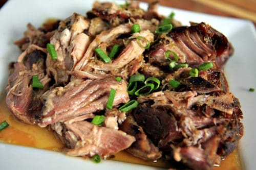 Slow Cooked Puerto Rican Pork (Pernil)
