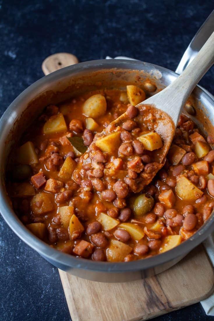 Habichuelas Guisadas | Puerto Rican Beans