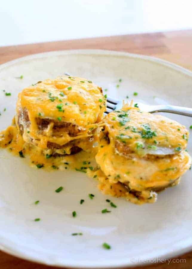Individual Scalloped Potatoes | TheNoshery.com