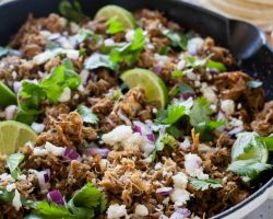Slow Cooker Pork Carnitas | TheNoshery.com