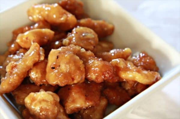 Better Than Takeout Orange Chicken - by TheNoshery.com