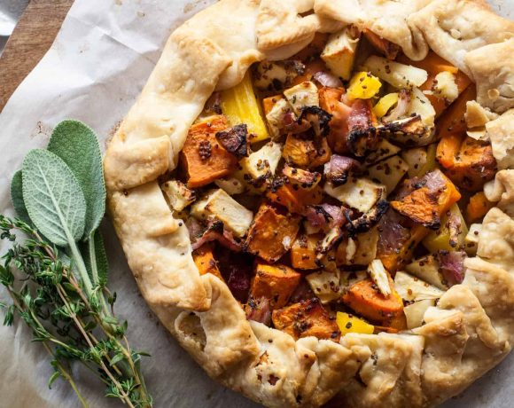 Fall Vegetables and Herb Galette