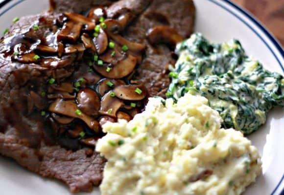 Quick & Light Steak Dinner