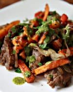 Skirt Steak and Sweet Potato Fry Hash Thumbnail