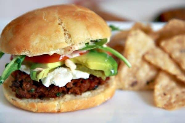 Southwest Burger 600