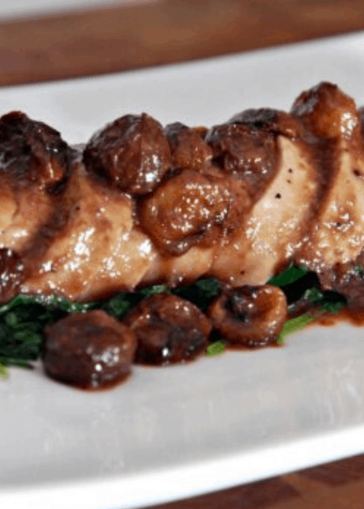 Roasted Grape Demi-Glace Pork Tenderloin