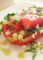 Beefsteak Tomato & Watermelon Salad