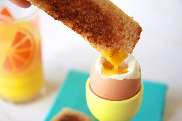 The Perfect Soft Boiled Egg