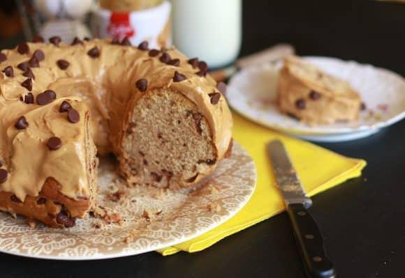 Coffee & Biscoff Bunt Cake