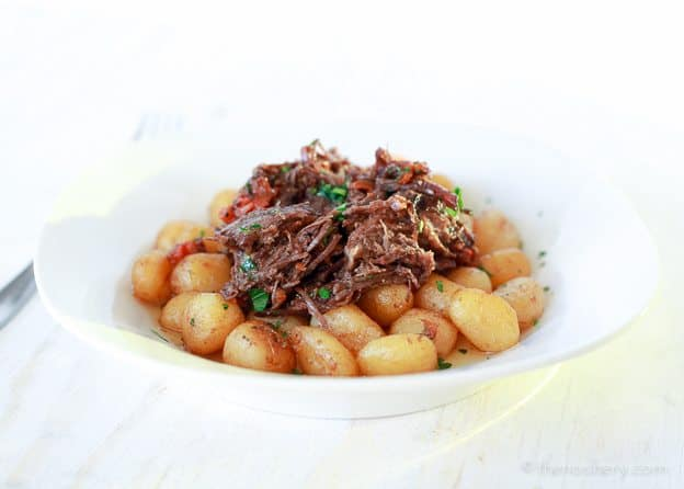 Red Wine Braised Beef | TheNoshery.com