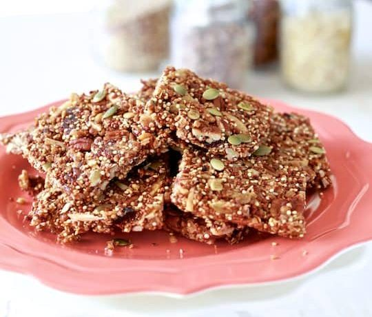Quinoa Fruit & Nut Bars