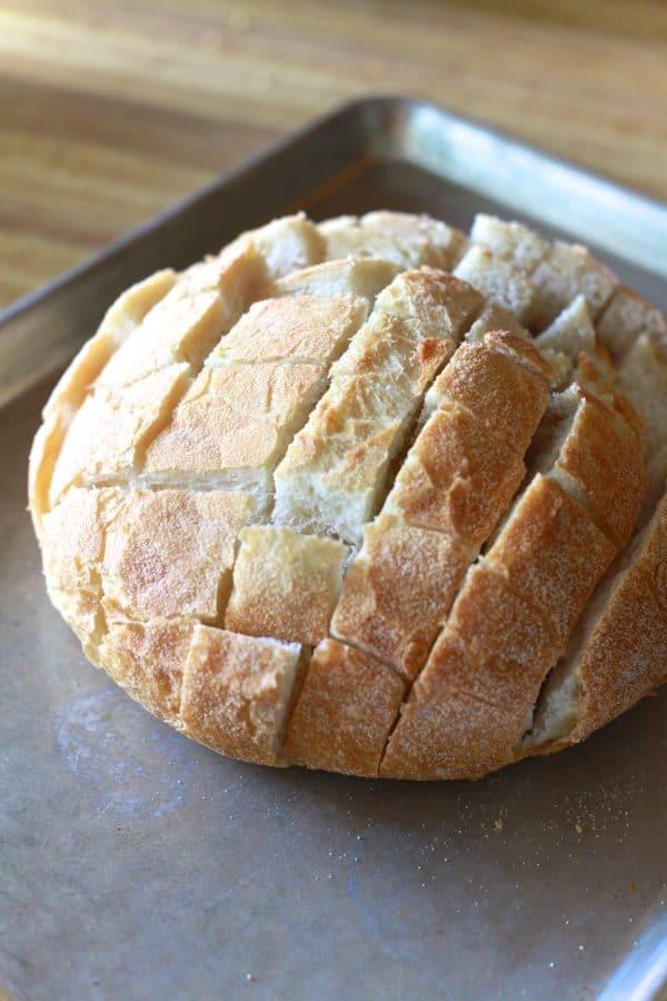 Easy Cheesy Bread | TheNoshery.com