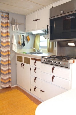 glamper, diy, before & after, camper, decor, small space