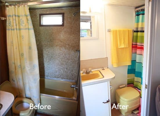 Vintage Camper Turned Glamper Diy Renovation The Noshery