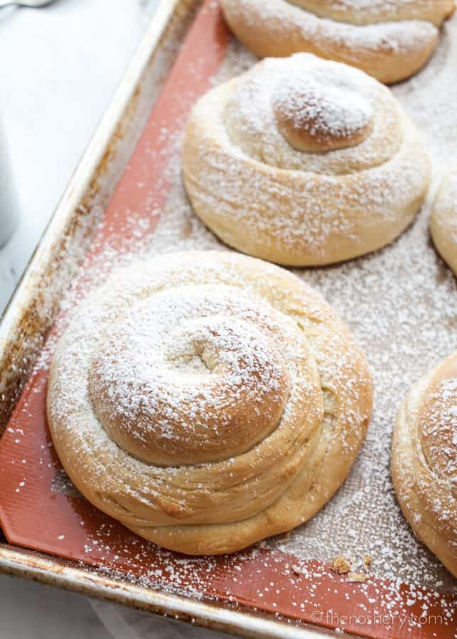Mallorca (Puerto Rican Sweet Bread Rolls) | TheNoshery.com