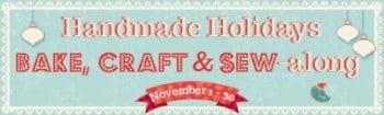 Handmade Holidays: Bake, Craft & Sew & GIVEAWAY!