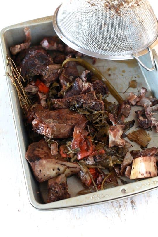 Rustic Beef & Mushroom Farro Soup - TheNoshery.com
