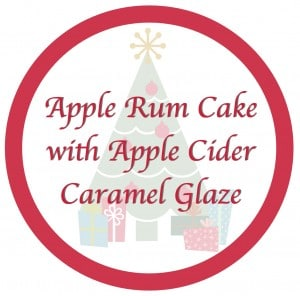 Rum Cake Lable