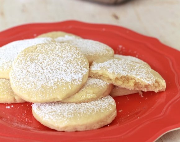 Almond Pillow Cookies