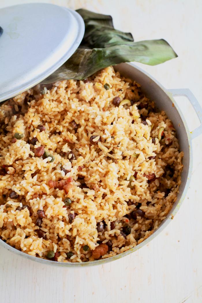 Arroz con Gandules (Rice and Pigeon Peas)