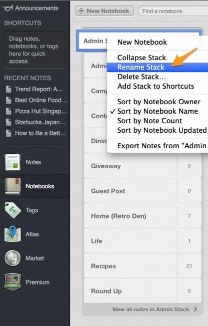 How to Make a Content Calendar Using Evernote - The Noshery