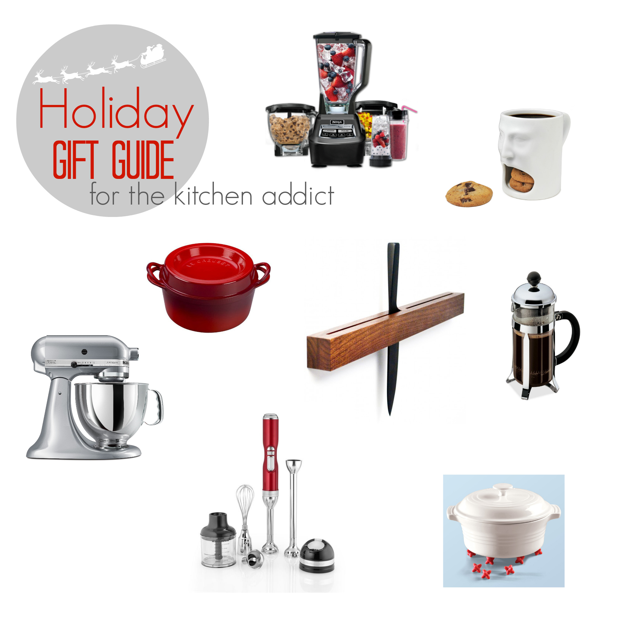 Holiday Gift Guide for the Kitchen Addict - TheNoshery.com
