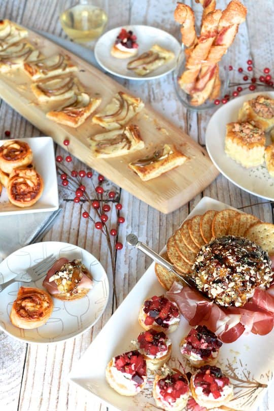 Easy New Year's Appetizers by TheNoshery.com