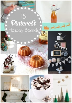 15 Pinterest Holiday Boards to Follow