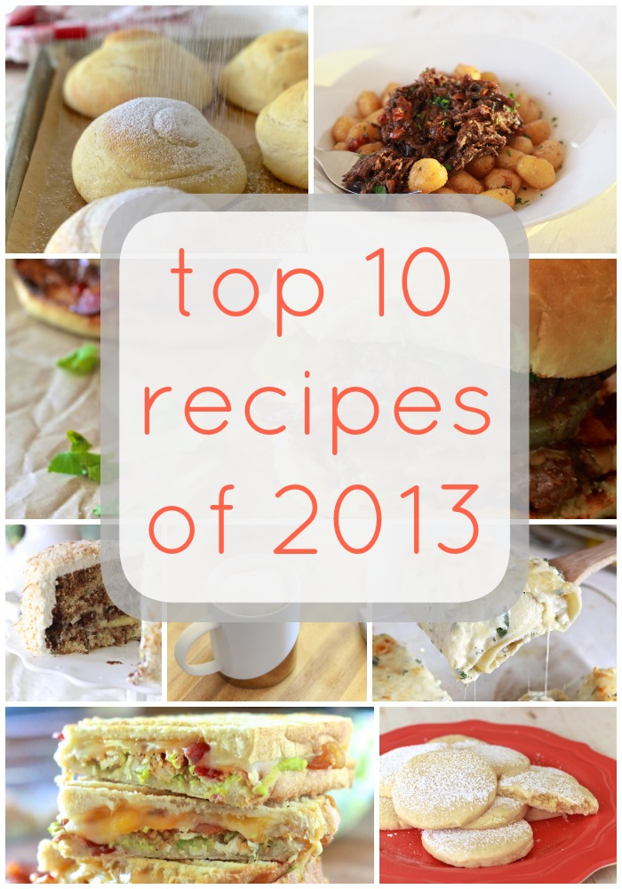 Top 10 Recipes 2013