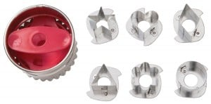 Wilton 7 Piece Round Linzer Cutter Set | $7.12