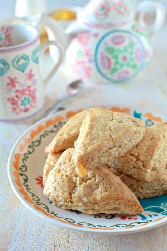 Honey and Ginger Scones