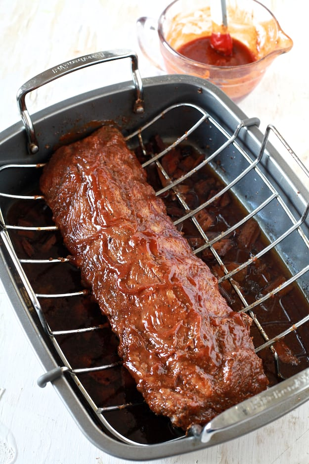 how to prepare back ribs in the oven