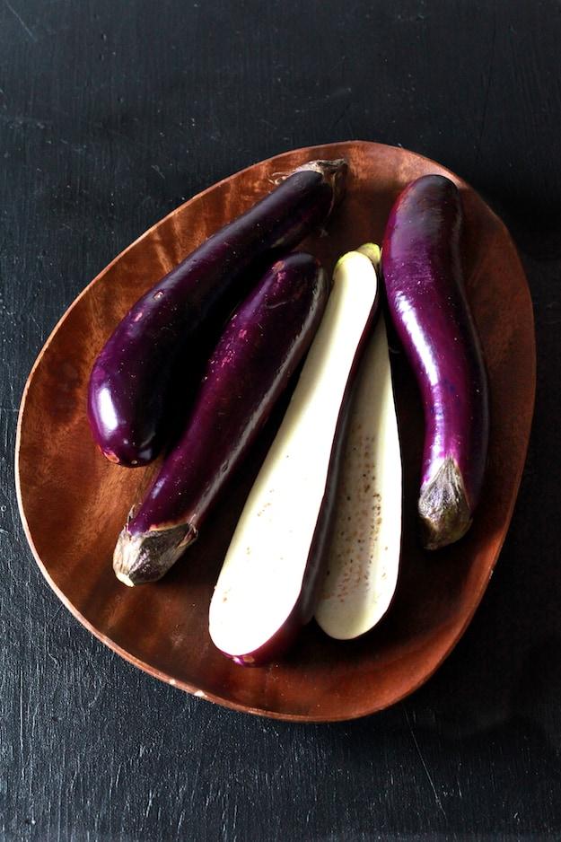 Eggplant Parmesan Pasta {Gluten Free} | TheNoshery.com - @thenoshery