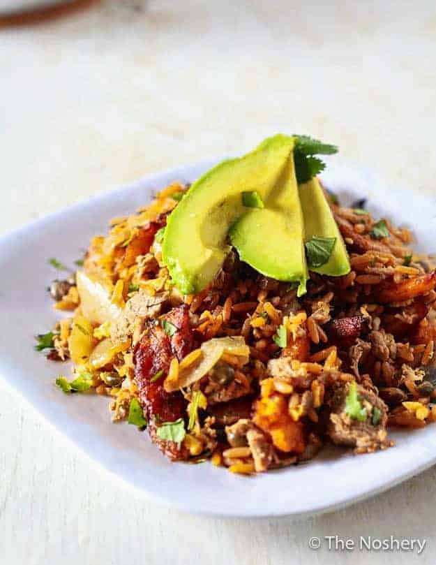 "Puerto Rican ""Fried Rice."""