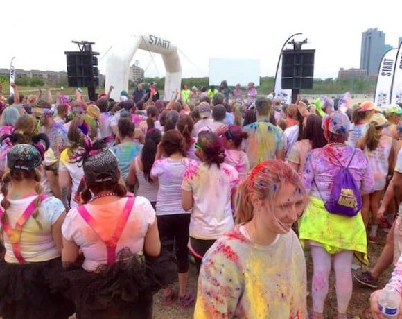 35 and Color Me Rad 5k