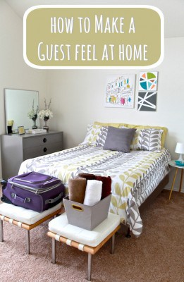 How to Make a Guest Feel at Home + $100 JCPenney Gift Card Giveaway