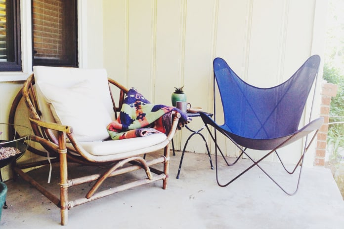 Elements of a good Front Porch by @Retro Den Tulsa - TheNoshery.com #nosheryhomelove