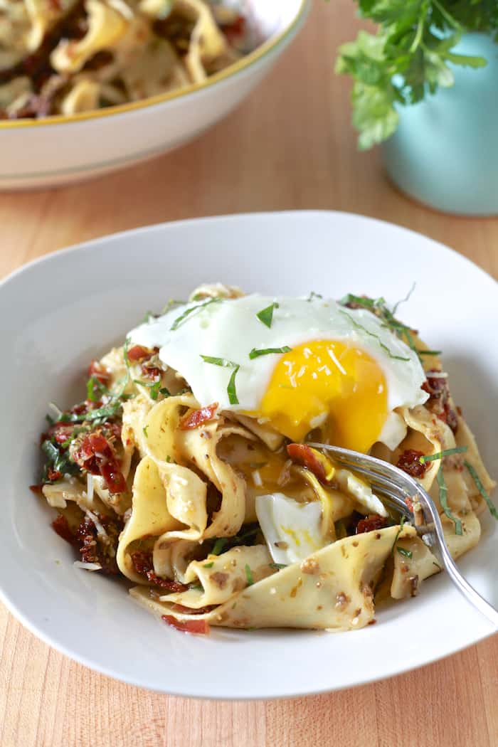 pappardelle creamy braised chicken with pappardelle creamy braised ...