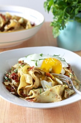 Pappardelle with Black Olive Tapenade 13