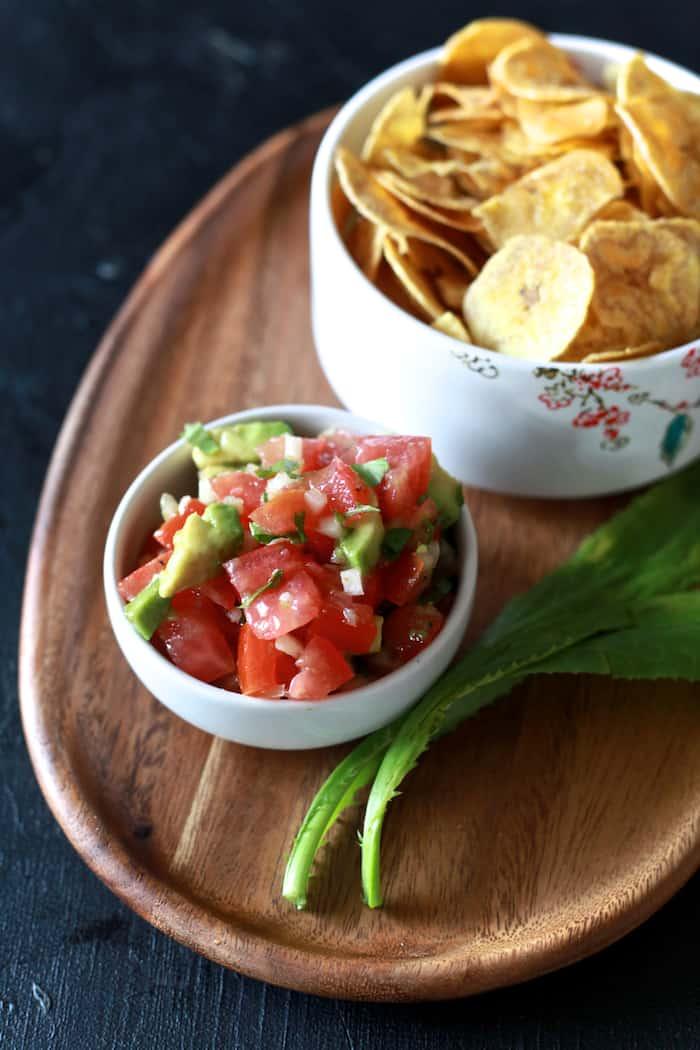 Sofrito Salsa & Tostones - TheNoshery.com