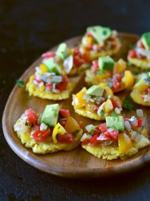 Sofrito Salsa & Tostones