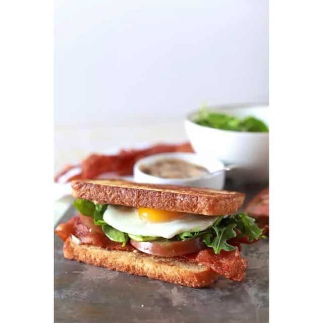 NEW POST! Fancy BLT with Balsamic Mayo. #ontheblog Link in profile!