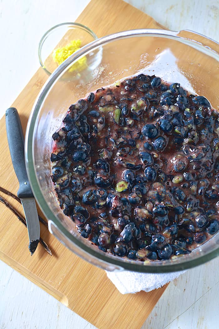 Blueberry Ginger Jam - TheNoshery.com