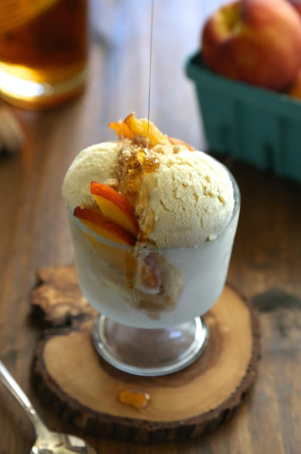 Bourbon Honey Ice Cream