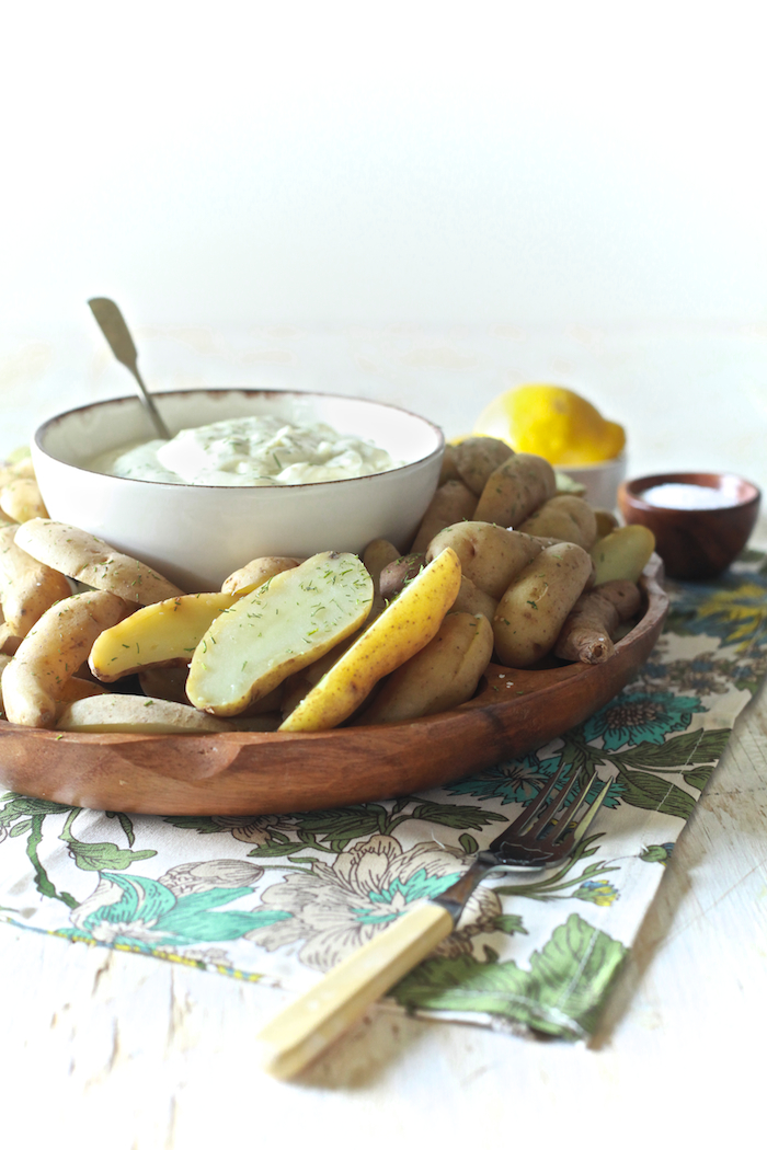 Chilled Potatoes with Lemon Dill Aioli 12